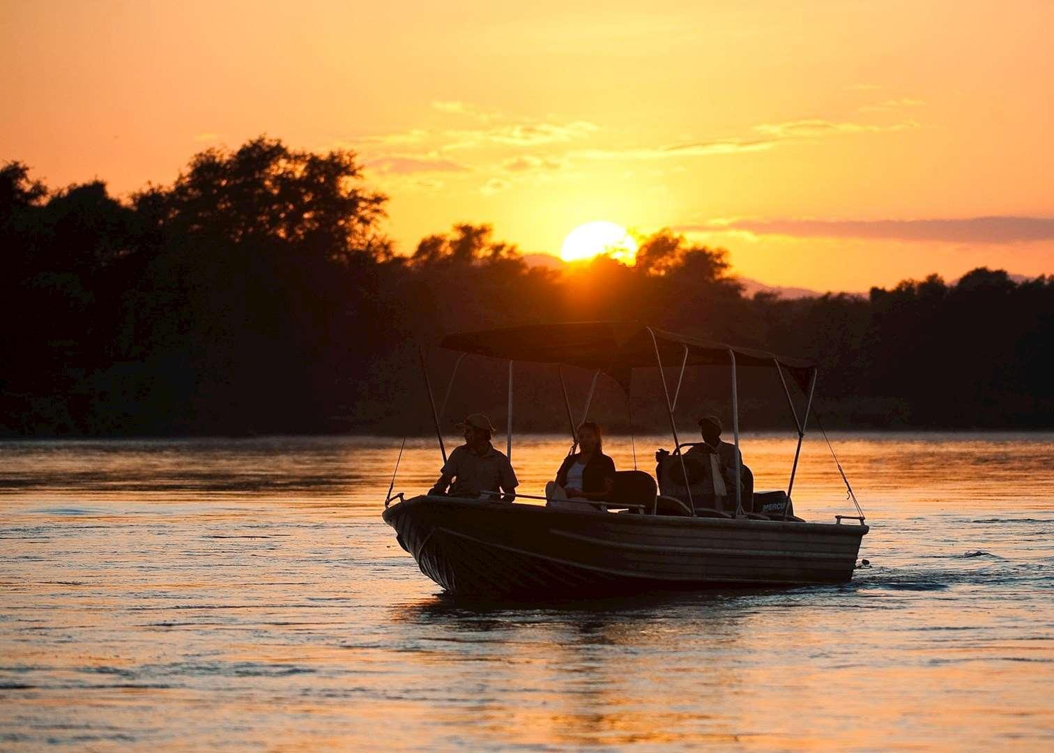 Sunset Cruise On The Zambezi Zambia Audley Travel