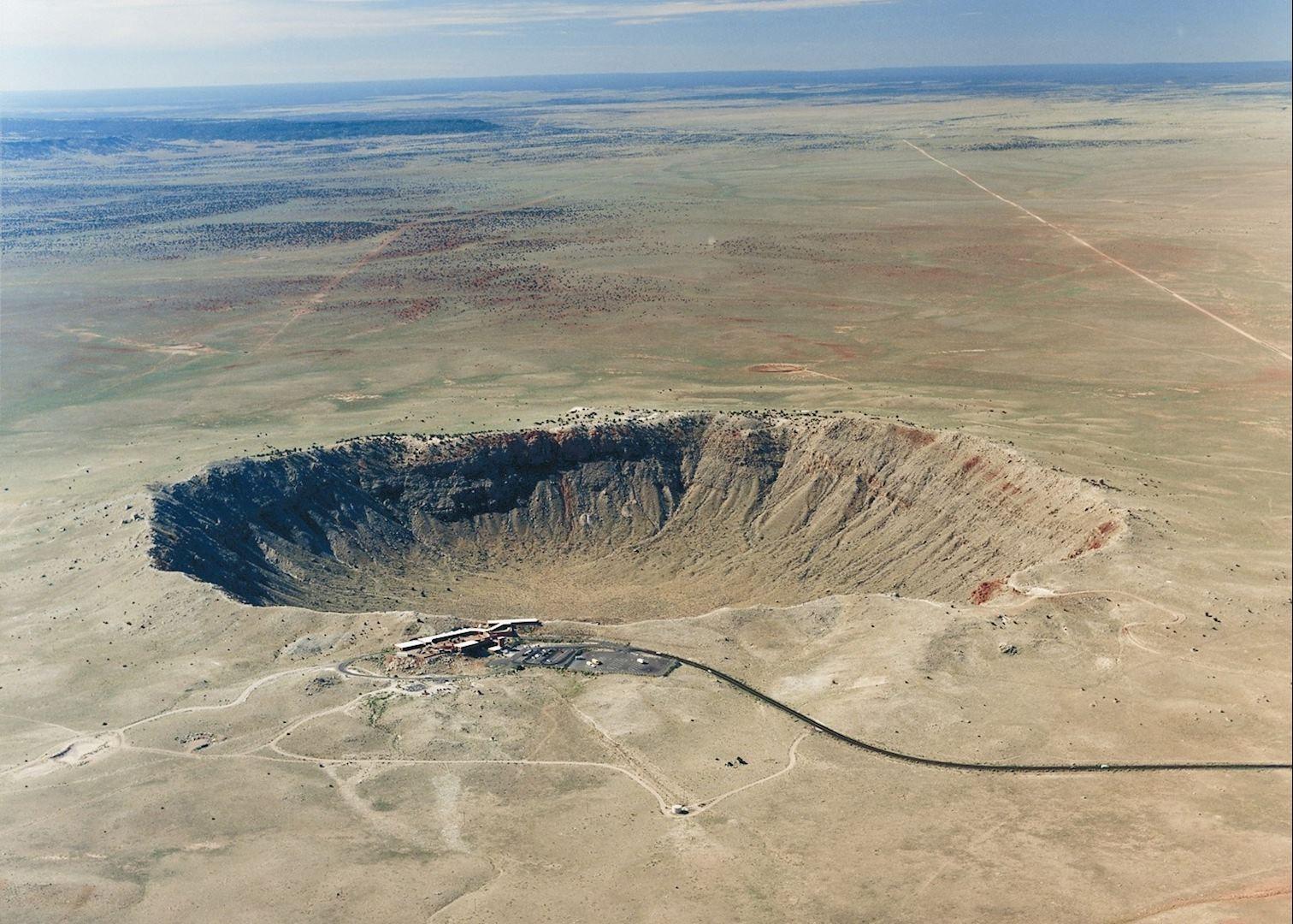 Meteor Crater, Near Winslow, Arizona  № 1143898 без смс