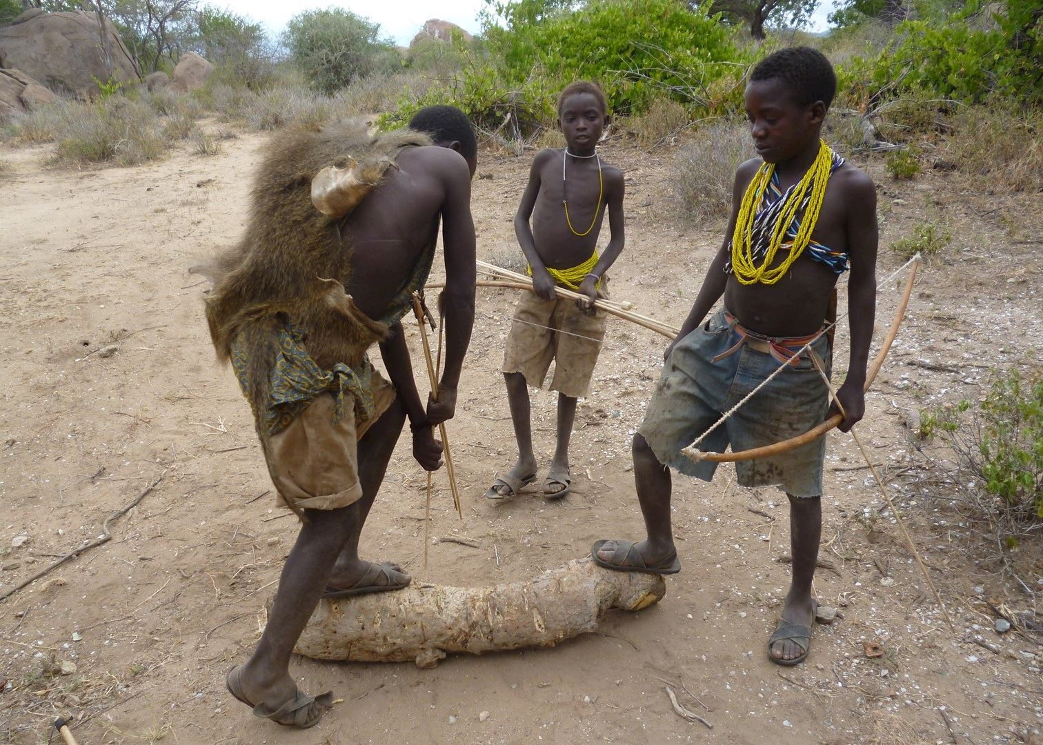 young tribe boys naked