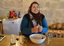 Cookery course at a local home, Cappadocia