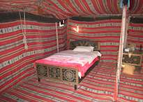 Bedouin tent, Safari Desert Camp, Wahiba Sands
