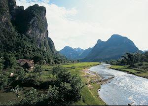 River views, Mai Chau