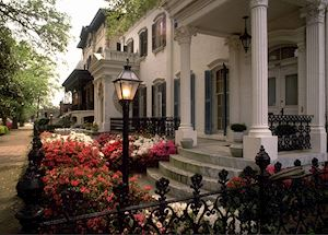 Historic mansion, Savannah