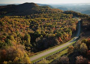 The Blue Ridge Parkway, Virginia